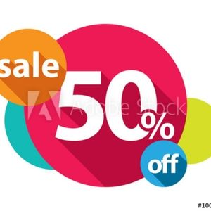 EVERYTHING IS 50% off in my closet!